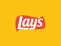 Lay's Logo Flat style
