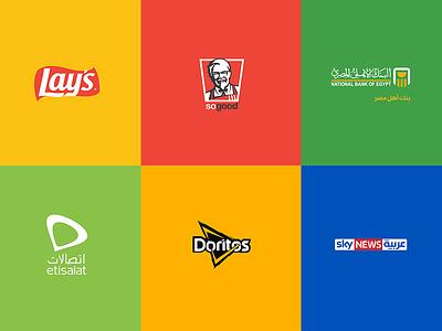 What If Logo Become Flat Vo1 symbol brand identity brand branding logo logo design