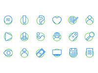 Blog Essentials Icon set Vo. 1