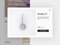E-Commerce Website Lite View