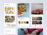 Recipe App UI Concept