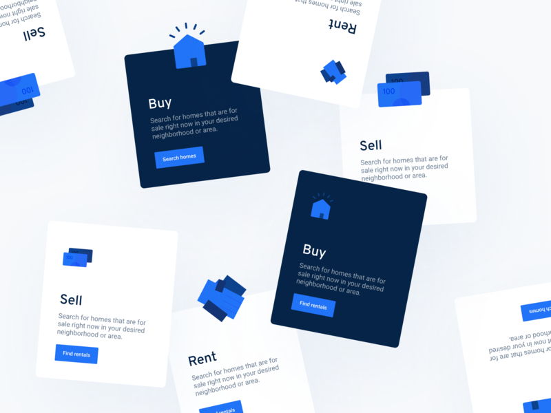 Dark UI Cards dark ui landing element modern interface illustration icons website design card branding web flat design app website concept clean minimal ux ui