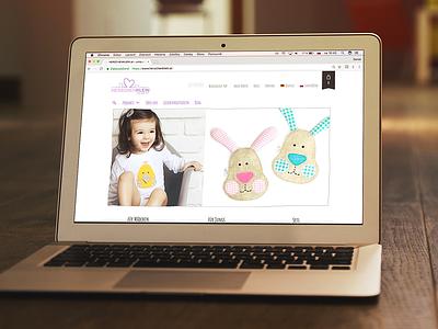 Herzchenklein - unique Baby stuff #ecommerce #design #shooting baby herzchenklein ecommerce design