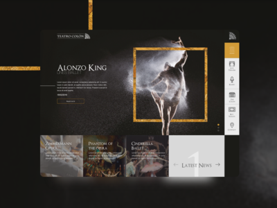 Teatro Colon - Redesign concept