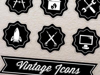 Vintage Icons icons vintage