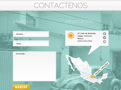 Kaniwa web design contact mexico