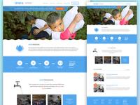 IRWA - Homepage Mockup