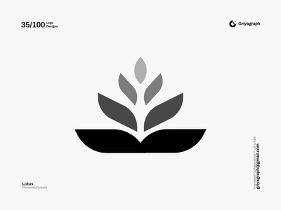 Lotus Logo natural beauty yoga sea lotus icon color rounded line modern simple minimal flat creative idea graphic vector design symbol logo