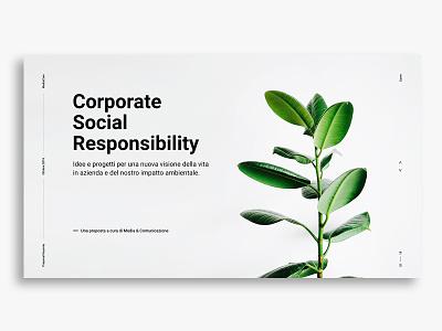 Keynote proposal design typography minimal identity design graphic design branding