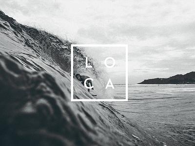 LOCA - Branding logo typography minimal identity design graphic design design branding
