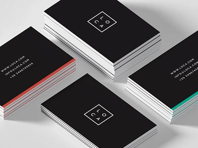 LOCA - Branding logo color typography minimal identity design graphic design design branding