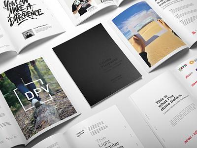 Portfolio 2015-2018 portfolio print typography minimal identity design graphic design design branding