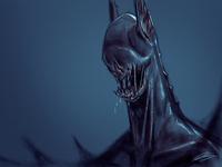 Mutant Bat-Man Concept