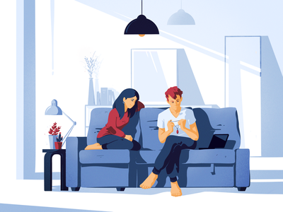 Sunday love berlin living room sofa sunday character couch couple