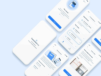 New Feature on Health App vector illustration illustration iphone feature app components product design digital health screenshots app scanner scan user flow mobile app health ux design