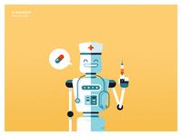 Robotic nurse assistant