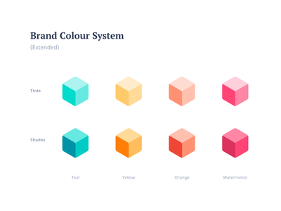 Colors corporate branding brand brand and identity brand assets cube colour picker colour palette palettes