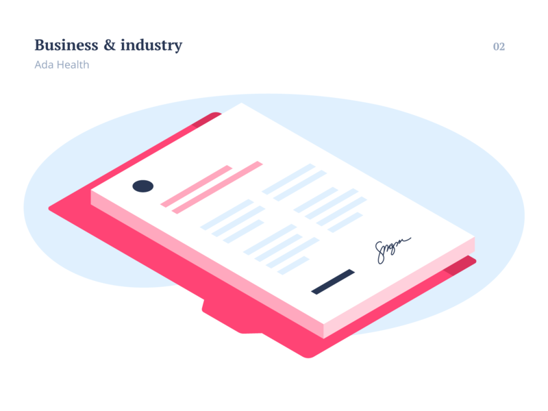 Business and Industry blog industry pink document signature business design isometry flat vector flat illustration vector illustration illustration
