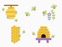 Mobile App UI Illustrations