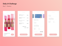 Daily UI #02 - Check out