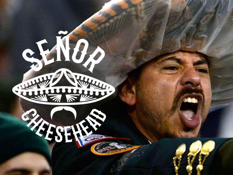 59e00c05e71 Senor Cheesehead by Gerald Flores