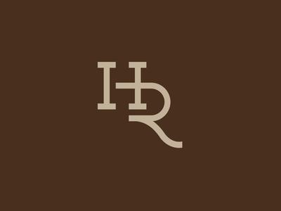 Howdy Ranch monogram cattle brand branding mark logo