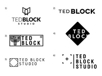 Ted Block Studio - logo propositions