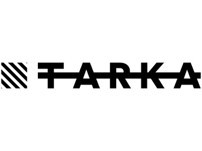 Tarka - icon & logo bold stripes project design brand white black icon logotype logo illustrator tarka