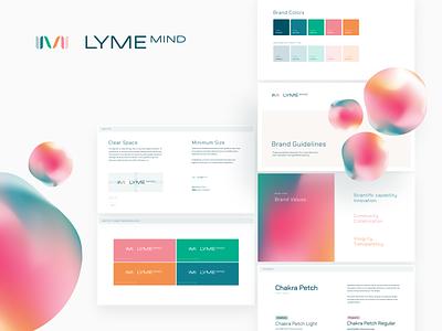 LymeMIND Branding design indicius identity logo branding disease lyme lymemind mount sinai healthcare medicine school