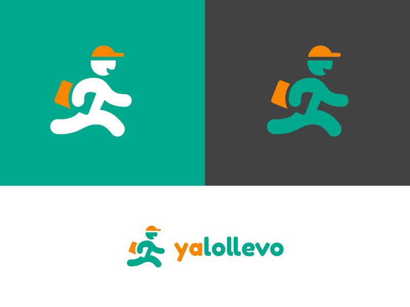 Yalollevo - Logo Design identity design logo brand startup shipping delivery yalollevo