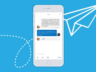Daily UI Challenge #013 Direct Message