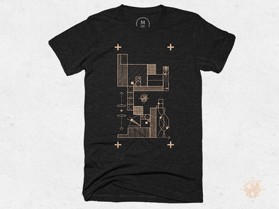 Frenchship #01 Cotton Bureau T-Shirt