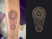 Tattoo Illustration Frenchship