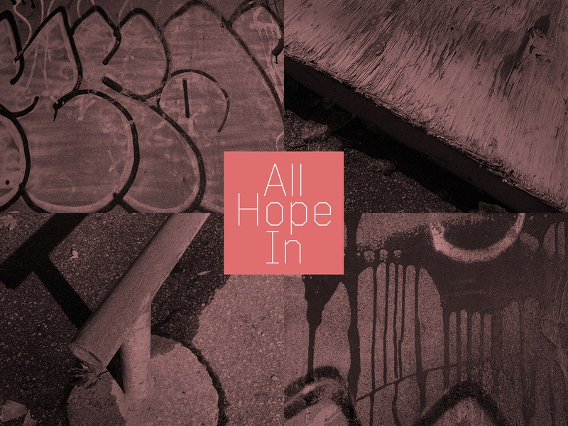 All Hope In spraypaint flatbar manual pad skateboarding spring