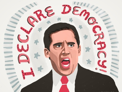 This Doesn't Work (Go Vote) phrase stars celebrity parody america portrait art portrait typography digitalillustration illustration democracy protest resistance election
