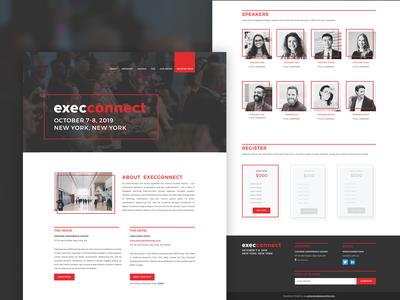 Conference Site Design