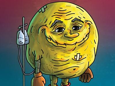 Pac Man as older