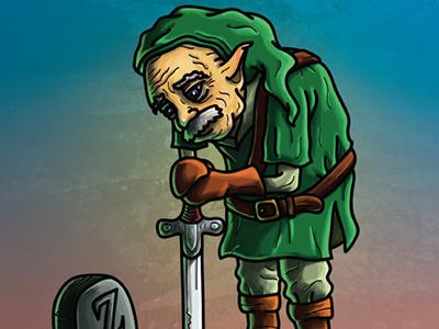 Legend Of Zelda-Link as older