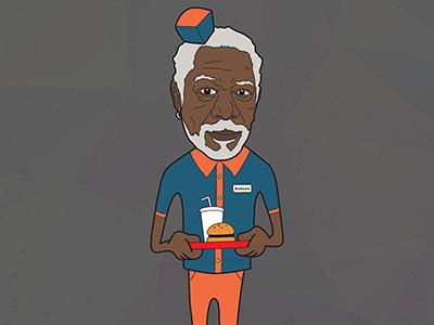 Morgan Freeman (Famous no More)