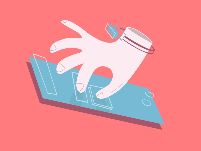 Smart Tech app mobile web berlin vector ui digital illustration design graphic novel direction editorial illustration digitalboaz illustration