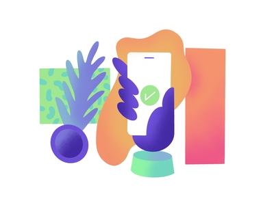 UI UX Web Illustration