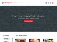 Urbanspoon homepage