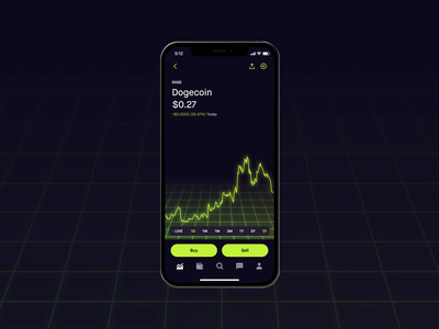 Robinhood Crypto Waitlist investing finance interaction design accelerometer cryptocurrency crypto robinhood animation product design branding brand experience