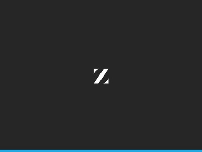 Zimmer Realty letter elegant clean classy realty elite exclusive high contrast z logo branding