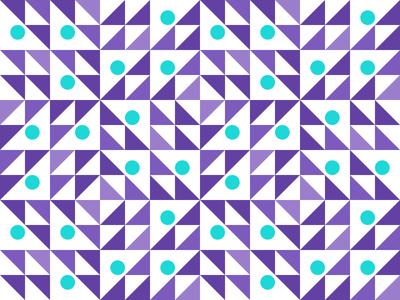 Pattern Explorations repeat colors circle triangle geometric pattern branding