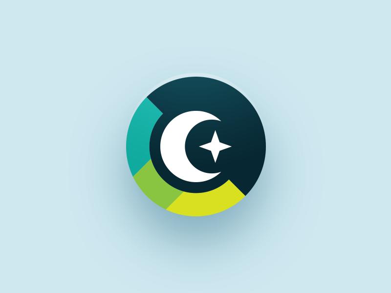 🌙✨ secret iconography web app icon color palette stars moon desktop app icon web