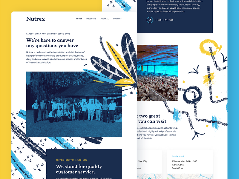 Nutrex Homepage Explorations homepage marketing ui layout typography rebrand branding illustration web design redesign website web