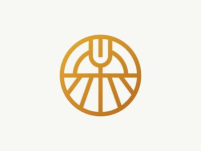 The Founder's Market & Bistro studio freelance studio freelance branding agency brand design brand linework badge brand identity sun field fork food farming farm to table logo design logo logomark branding restaurant