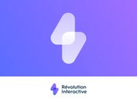 Révolution Interactive Logo Design