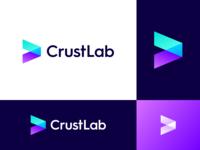 CrustLab Logo Design